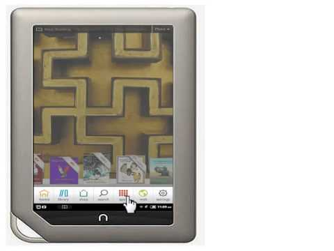 Getting the Overdrive Media Console app for the Nook Color