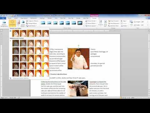 How to work with Pictures and Clip Art in Microsoft Word 2010