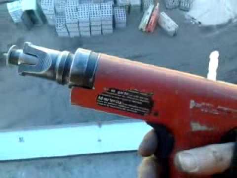 Metal Framing...using a Hilti Gun :)