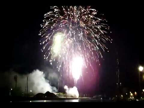 Canal Days 2012 Fireworks in Port Colborne, Ontario