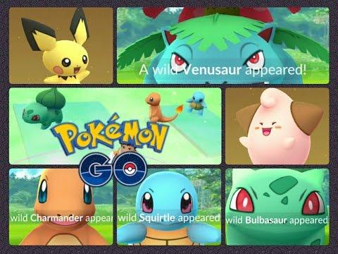 Pokémon GO Charmander Bulbasaur Squirtle Event Catching Venusaur Egg hatching Gen 2 & more