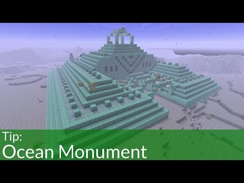 Tip: Ocean Monuments in Minecraft