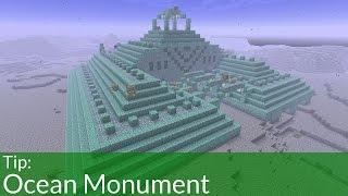 Tip: Ocean Monuments In Minecraft
