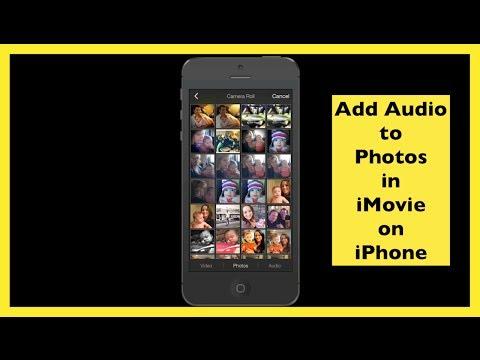 Add Audio To Still Photos Using iMovie On iPhone