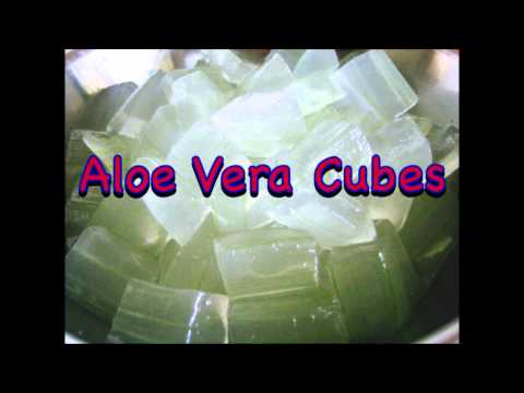 Aloe Vera Cubes- Cubos de Sábila