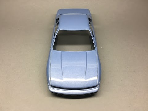 How to: Paint a Scale Model with Spray cans Part 3: Applying and Polishing 1k Clear