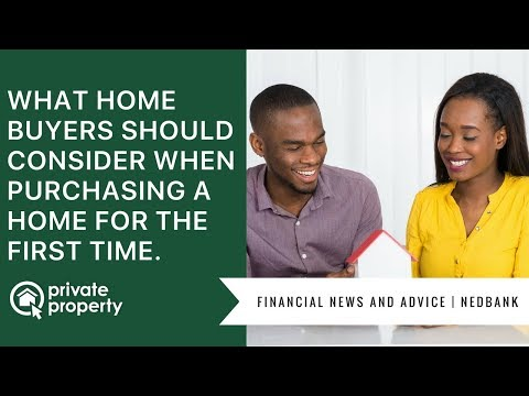 What first time home buyers should consider when purchasing a home.