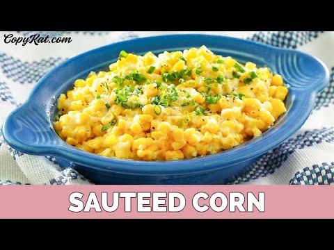 How to Make Sauteed Corn