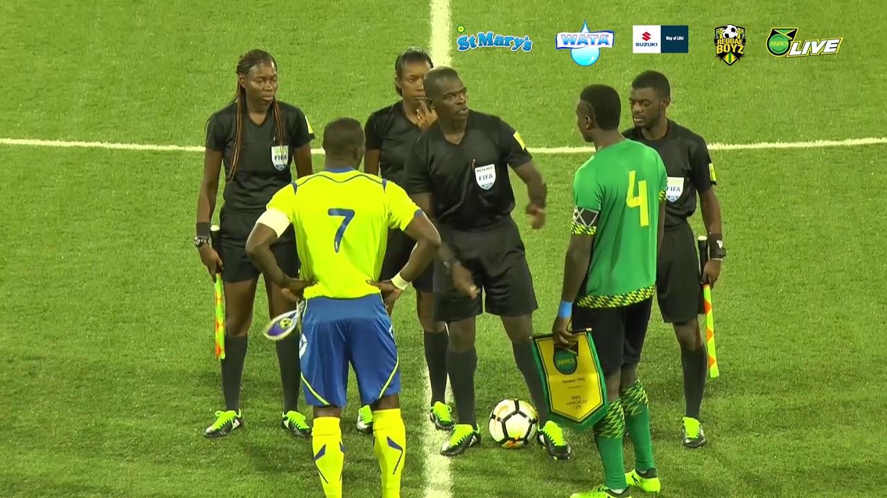Jamaica Senior Reggae Boyz VS Barbados International Friendly, August 2018
