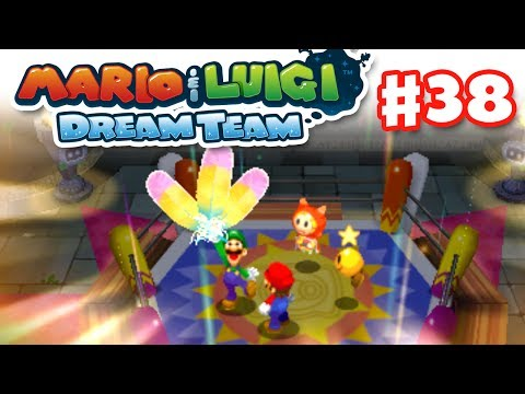 Mario & Luigi: Dream Team - Gameplay Walkthrough Part 38 - Zeekeeper's Feathers (Nintendo 3DS)