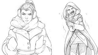 Overwatch AWNN - The Cold Never Bothered Me, Anyway