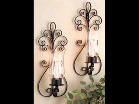 Decorative Candle Holders....metal designs..
