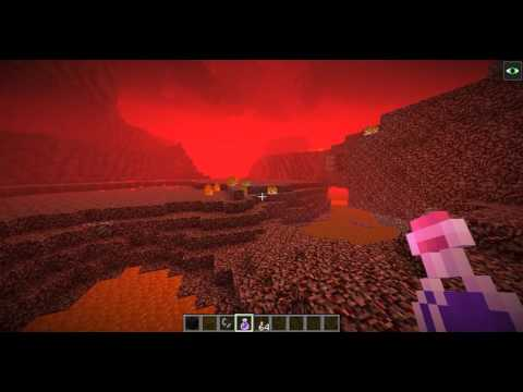 How to find a Nether Fortress In Minecraft 1.9!