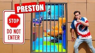 Breaking Into Preston