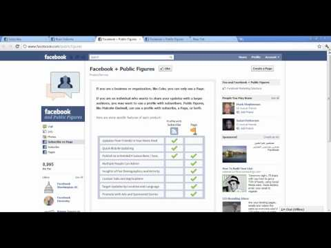 How To Add Facebook subscribe Button To Your Profile