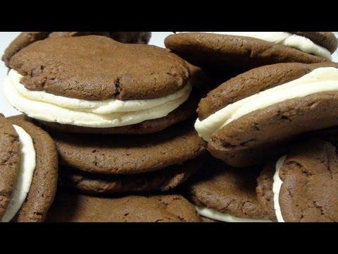 Homemade Oreo Cookie - How To