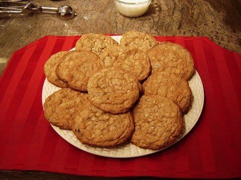 Oatmeal Peanut Butter Jumbo Cookies by Diane Lovetobake