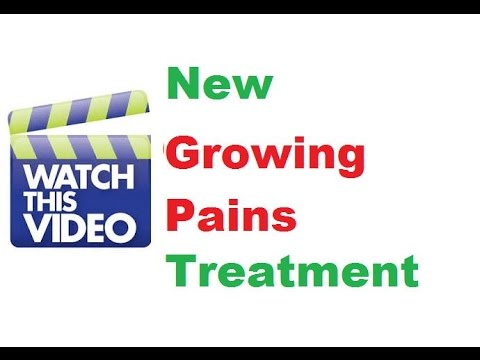 How To Stop Growing Pains in Childs Legs Homeopathic Treatment