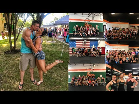 Bowmars In Texas | Group Workouts | Unicorn Party