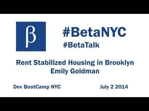 Mapping Rent-stabilized Housing in Brooklyn - Emily Goldman