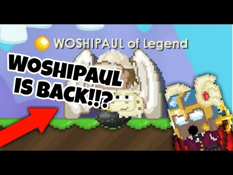Woshipaul IS BACK !!!? | Growtopia