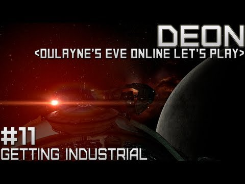 Lets Play EVE Online - Episode 11: Getting Industrial (Industry Career Agent)