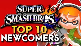Top 10 Newcomers for Super Smash Bros. Nintendo Switch