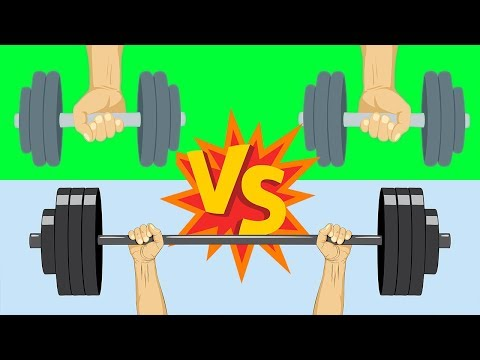 Dumbbells Vs Barbells (DON'T MESS THIS UP!!!)