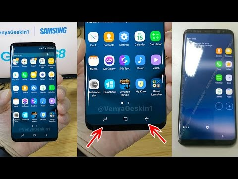 SAMSUNG GALAXY S8 LEAKED PICTURES! (with on-screen buttons)