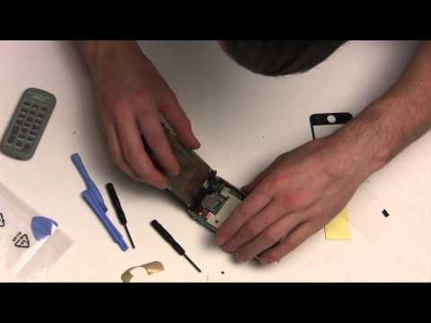 iphone 3GS screen replacement complete and comprehensive part 2/2