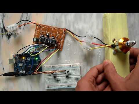 Sensorless brushless DC (BLDC) motor control with Arduino (DIY ESC)