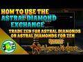 Neverwinter: How To Use Astral Diamond Exchange (Xbox One)