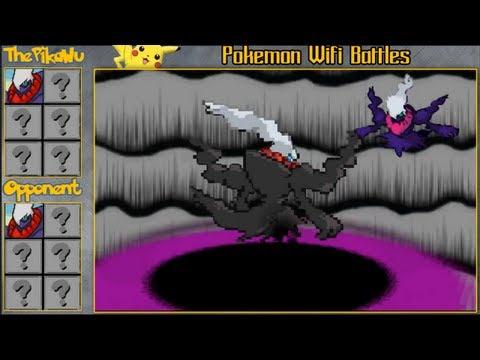 The Darkrai Duel! (Pokemon Black and White Ubers Battle Vs. GangstaBeana)
