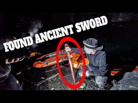 ANCIENT SWORD FOUND IN THE UNDERGROUND CAR CAVE 2/2