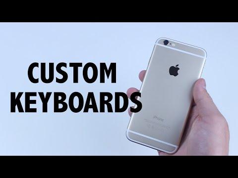 iPhone 6 Custom Keyboard Installation | How To