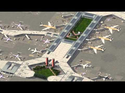 SimCity 4 nice custom built airport