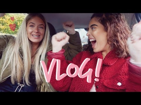 WE'RE HAVING A MEET & GREET AT TOPSHOP!!! | VLOG | Sophia and Cinzia