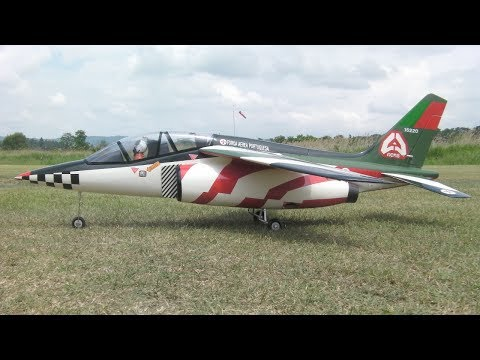 Alpha Jet アルファジェット Building, First flight RC EDF e-JET
