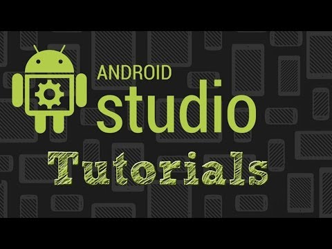 Android Studio Tutorials    Setting up a project and Gradle
