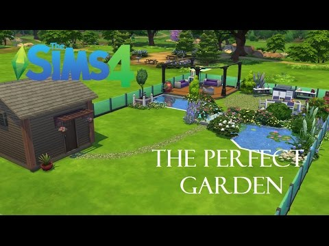 The Sims 4 | Perfect Garden | Speed Build