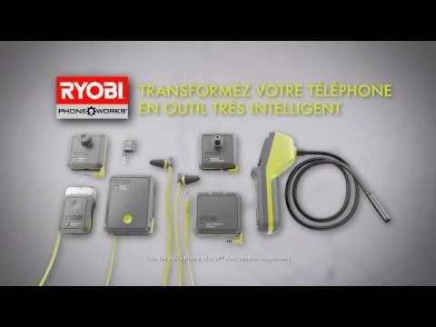 Les outils Ryobi Phone Works