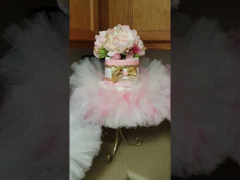 Diaper Cake TuTu