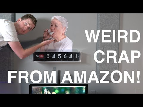 The Weirdest Crap You've Bought on Amazon
