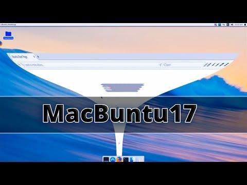 macbuntu 17.04 : Make Ubuntu Look Like Mac OS X