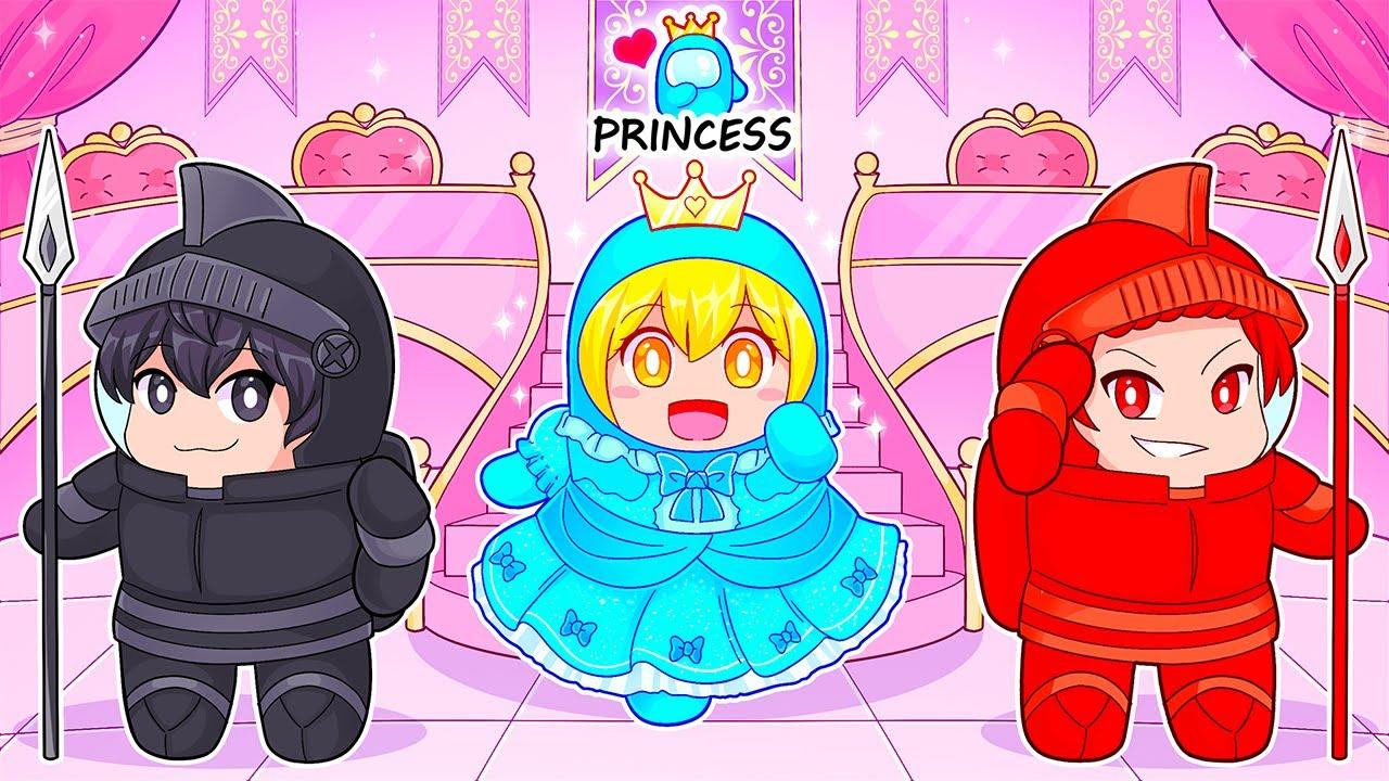 Among Us NEW PRINCESS ROLE! (Mod)