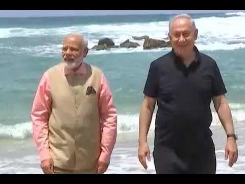 PM Modi visits Water Treatment Plant in Haifa where sea water is turned into potable