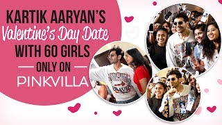 Luka Chuppi star Kartik Aaryan keeps his Valentine's Day date with 60 girls | Photo Song