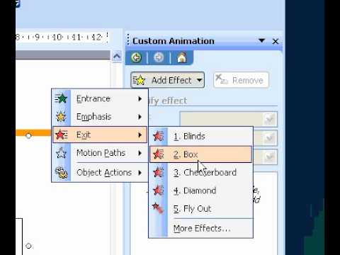 Microsoft Office PowerPoint 2003 Animate a chart