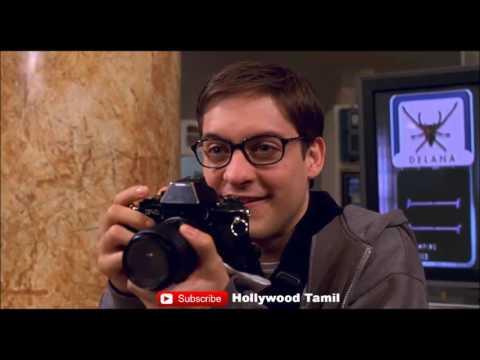 [தமிழ்] SpiderMan1 Spider Bite scene   Super Scene   HD 720p