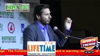 4 of 5 Shahid Afridi Foundation Canada - Hope Not Out Gala Toronto May 12 2017